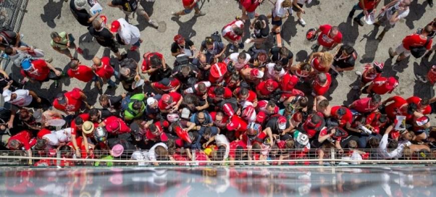 Raduno Ducati al Rimini – Misano World Circuit 'Marco Simoncelli'