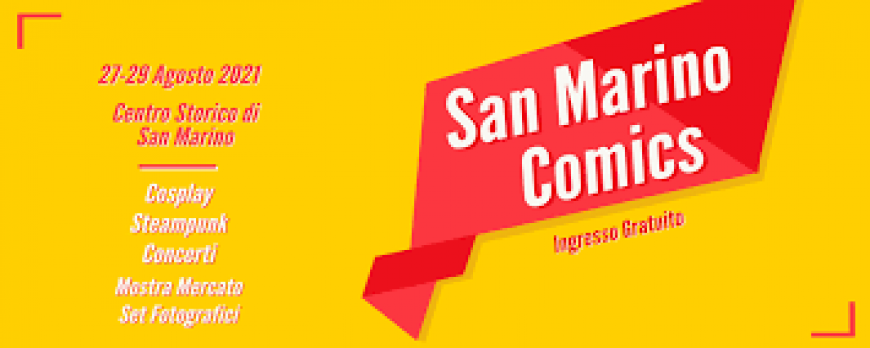 San Marino Comics 2021