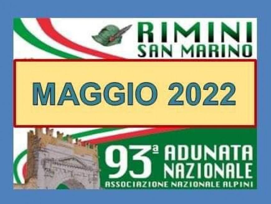 RADUNO ALPINI RIMINI 7-11 MAGGIO 2020